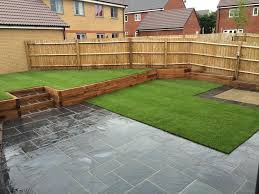 Slabbed Patio Designs Juniper Landscapes Landscapers Bristol Fencing Landscaping