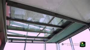 vitrage toiture veranda store de toiture intérieur de véranda ariane youtube