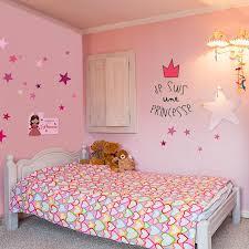 chambre fille etoile kit déco princesse étoiles