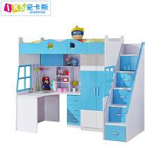 bureau superposé grossiste lit superposé avec bureau en bois acheter les meilleurs