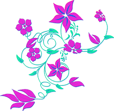 free flower border clip art pictures clipartix
