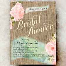burlap bridal shower invitations u2013 gangcraft net