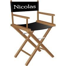 sticker chaise de cinéma personnalisé stickers