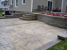 Flagstone Stamped Concrete Pictures by Gs Flatwork Llc Decorative Concrete Patios