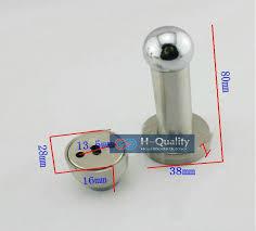Cabinet Door Stop Shop 2pcs Lot 80mm Strong Handle Type Stainless Steel