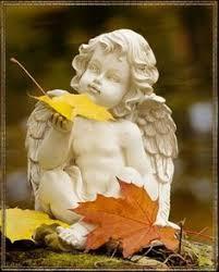 image detail for garden cherub seated on garden