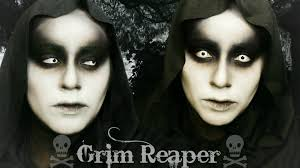 Easy Halloween Makeup For Men by Grim Reaper Halloween Makeup Youtube