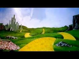 the wizard of oz broadway musical backdrops suggestions by