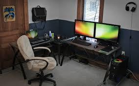 Small Pc Desk Brilliant Small Office Computer Desk The Slimline Workspace