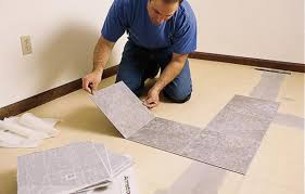 Lino Floor Covering How To Lay A Vinyl Tile Floor This Old House