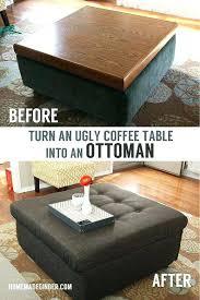 Recover Ottoman Recovering An Ottoman Rug Ottoman Recover Ottoman Cube No Sew