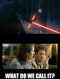 Lightsaber Meme - what do we call it crossguard lightsaber know your meme