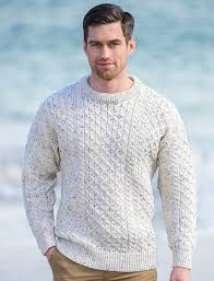 mens wool sweater wool sweater heavyweight aran