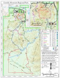 Ajo Arizona Map by Toothaker Trail Estrella Mtn Rp U2022 Hiking U2022 Arizona U2022 Hikearizona Com