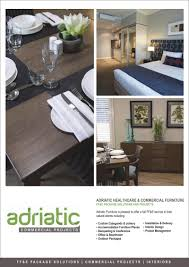 commercial furniture melbourne adriatic commercial projects