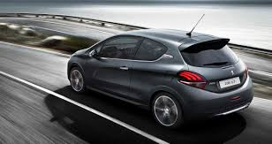 peugeot 208 gti blue upgraded peugeot 208 gti now available priced from rm143 888