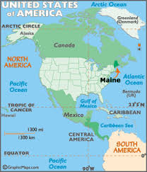 map of maine cities maine map geography of maine map of maine worldatlas com
