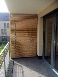 balkon trennwand balkontrennwände metallbau reh föhren