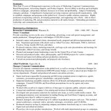 Resume Sample Resume Marketing Manager by Cover Letter Marketing Director Resume Sample Marketing Manager