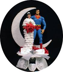 custom wedding cake toppers superman custom superman bride and