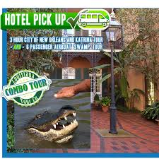 tours new orleans new orleans city and airboat sw tour combo