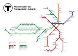 Boston Ferry Map by Subway Map Boston Jpg