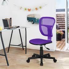 chaise de bureau violette sepik chaise de bureau violette