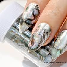 aliexpress com buy 1 roll 4 100cm gradient marble designs nail