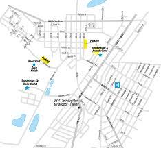 Portland Parking Map by Race Guide