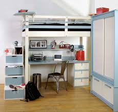 chambre loggia lit mezzanine ado espace loggia