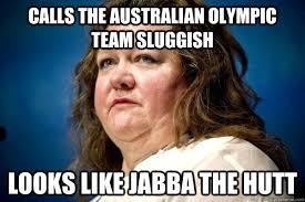 Jabba The Hutt Meme - image 393858 gina rinehart poverty gaffes know your meme