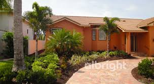 front yard landscapes layered palm trees with low maintenance