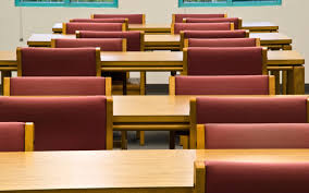 home library study room wallpapers class desks chairs 4k uhd idolza