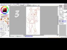 tutorial how to change the line color in sai 3 different ways