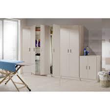 vita utility 3 door broom cupboard online4furniture co uk