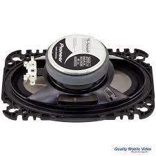 pioneer 4x6 pioneer ts g4645r 4 x 6 200 watt 2 way speakers