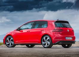 red volkswagen golf revealed performance pack for 2017 volkswagen golf gti