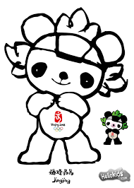 wenlock london olympic mascot coloring pages hellokids com