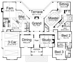 european style house plan 4 beds 2 5 baths 2617 sq ft 730 best floor plans images on pinterest architecture dream home