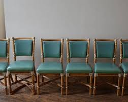 vintage dining chairs etsy