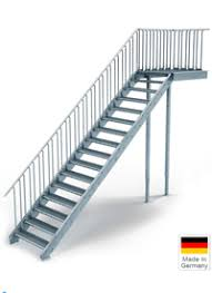 treppe auãÿen außentreppe auf geschosshöhe bauen steinhaus treppen treppen