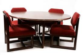 frank lloyd wright for heritage henredon table u0026 chairs red