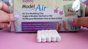 craft finds polyform air dry modeling clay youtube