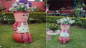 Design Flower Pots Beautiful Flower Pots And Garden Design Tips Youtube