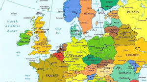 Current Map Of Europe Europe Cities Map Grahamdennis Me