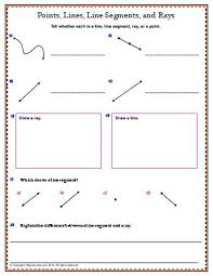 lines rays and line segments worksheets 3rd grade lines and line segments worksheets 3rd grade free