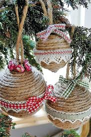 how to make your own tree decorations and how to