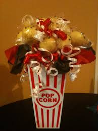 great to use as a centerpiece or sweet table decor for a movie