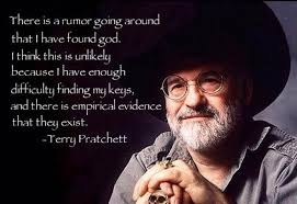 Terry Meme - terry pratchett on god atheism know your meme