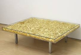 yves klein table price yves klein table monogold 1963 2014 available for sale artsy